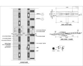 林荫道路施工图 CAD