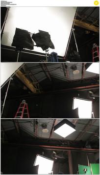 摄影棚实拍视频素材