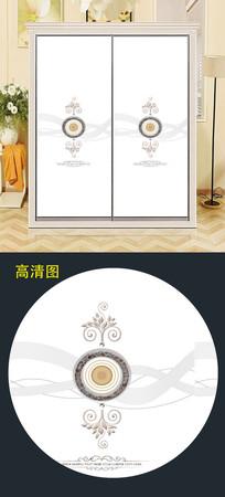 时尚现代大气移门图片背景衣柜门 JPG