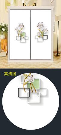 衣柜移门图片背景衣柜门图案