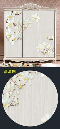 中国风大气柜门图案