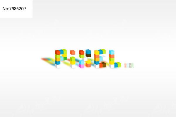 PIXEL彩色图标设计图片