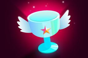 奖杯图标设计