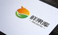 农业水果logo AI