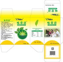 保健品味常清益生菌包装设计