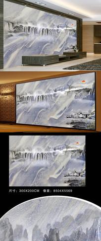 大理石纹装饰壁画