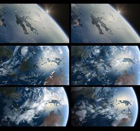 地球转动加风云变幻视频