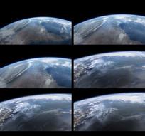 地球转动视频
