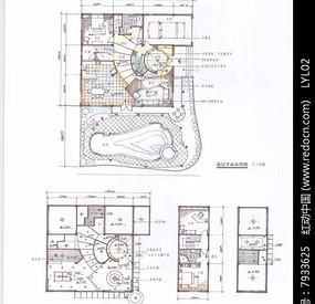 室内平面手绘图 JPG