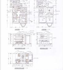 室内设计线稿图