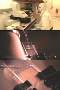 现代医学科技液体水质检测化验试验视频