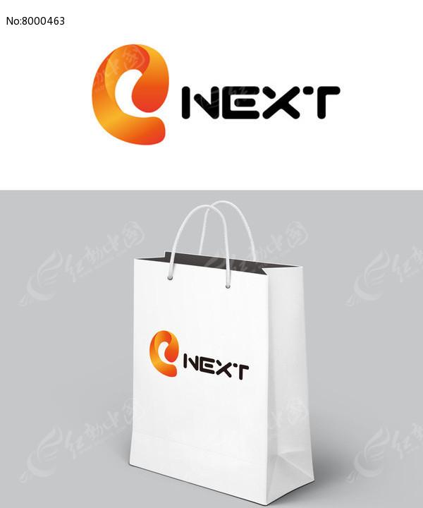 橘色简约公司logo图片