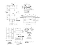 石板平桥 CAD