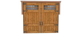 庭院车库入口门模型