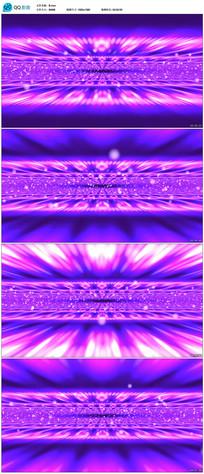 高清紫色地平线穿梭背景视频