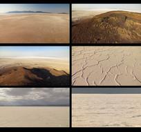 航拍沙漠视频
