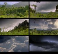 延时风景天气视频