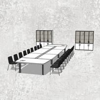简约会议室