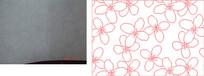 四瓣花朵雕刻图案