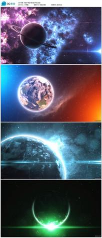 震撼大气宇宙星空背景视频 mp4