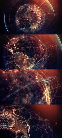 地球唯美包装片头