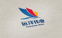 航海帆船企业标志标志