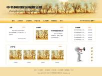 网页首页设计psd素材