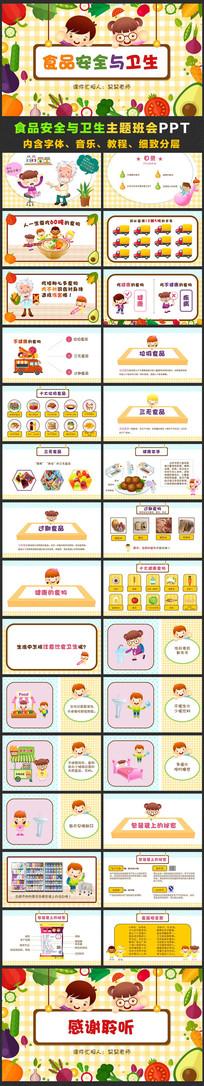 幼儿园食品安全与卫生教育ppt