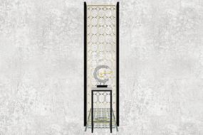 圆圈中式古典家居门廊摆件