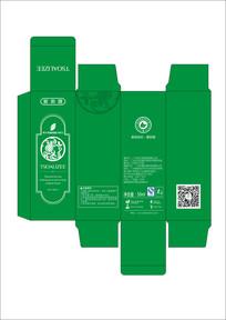 原液盒子包装设计 CDR