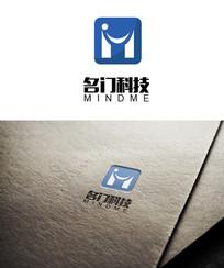 大气简约科技logo