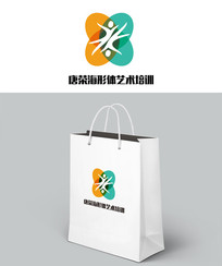 动感艺术学校logo