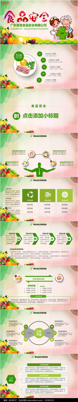 食品安全ppt课件模板图片