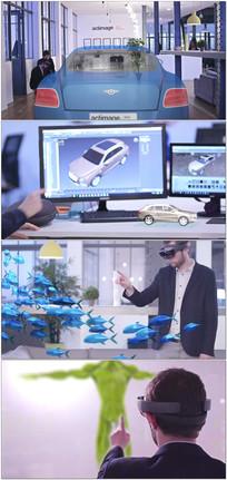 AR全息虚拟现实技术视频