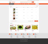 简洁大气电商的购物车页面设计 PSD