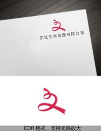 文logo