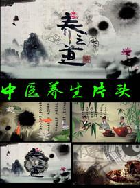 中医养生道片头视频