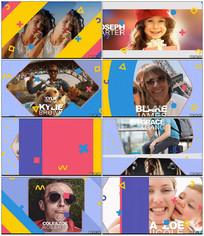 小清新旅游节目包装AE模板