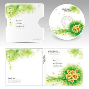 春暖花开CD光盘封面设计