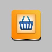 购物icon手机图标 PSD