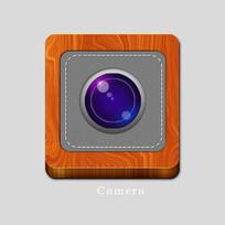 木质底盘相机icon图标