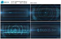 AE CS6科技信息LOGO展示模板