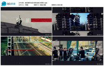 AECS6时尚老旧调色线条展示视频