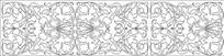 欧式叶子雕刻图案