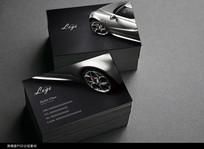 时尚汽车名片设计
