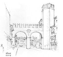 城堡拱门建筑