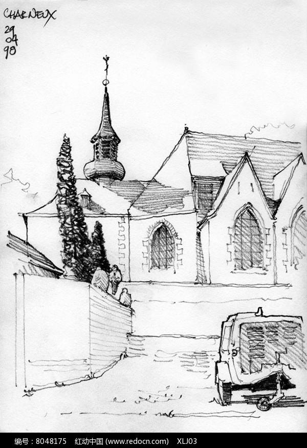 古堡景观建筑