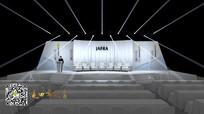 jafra新品发布会舞台舞美设计效果图170406 max