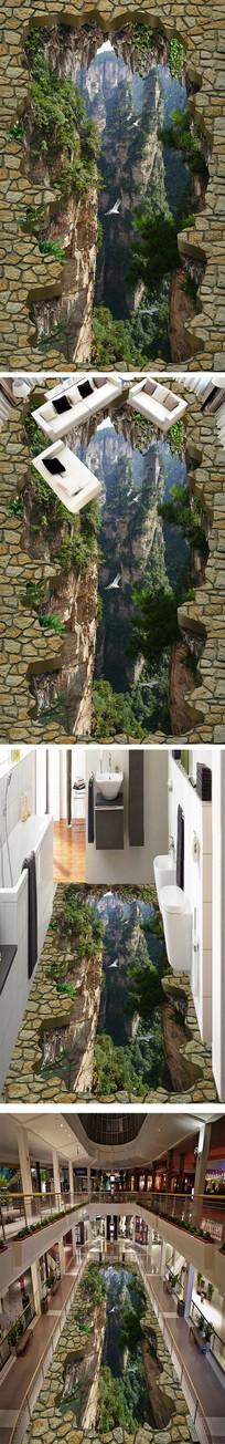 群山3D浴室厨房立休地画