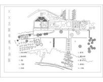 庄园花园CAD